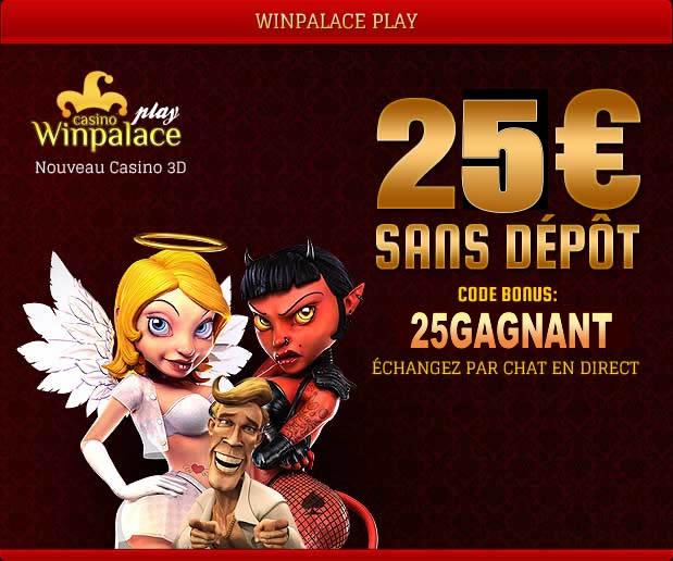 Nouveau casino bonus sans depot