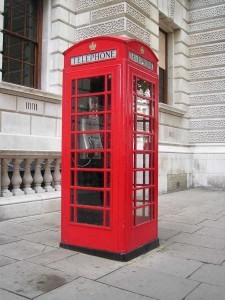 Téléphone Londres
