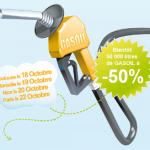 DealGroop : 50 000 litres de Gasoil à moitié prix