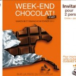 Week end chocolat - Invitation gratuite