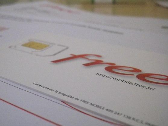 Carte Puce Free Mobile Arrivee