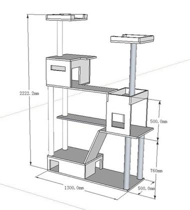 arbre chat pensez cologique et conomique. Black Bedroom Furniture Sets. Home Design Ideas