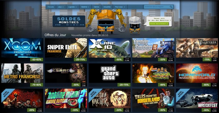 jeux video steam