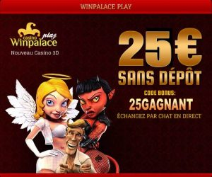bonus casino en ligne winpalace