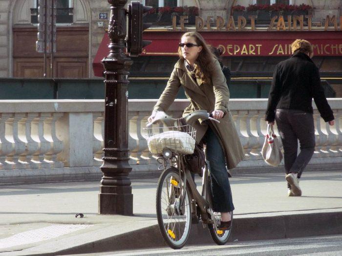 Se déplacer en vélo