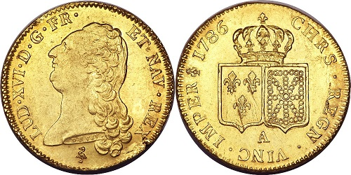 numismatique louis d or 1691