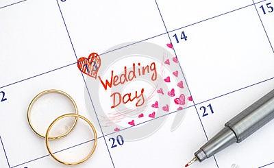 date du mariage