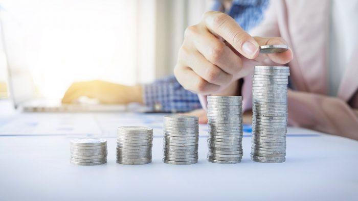 économies en fonction du revenu du dernier trimestre