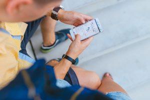Une campagne SMS pour annoncer l'ouverture d'une nouvelle boutique