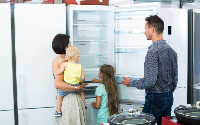 Achetez un nouveau réfrigérateur