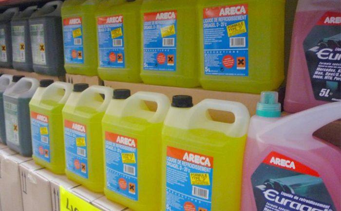 proteger voitures liquides