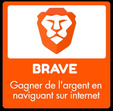 Gagner de l'argent en naviguant sur Internet avec Brave