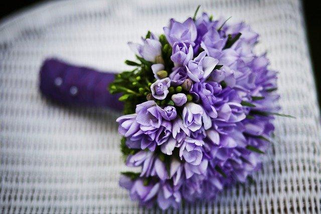bouquet de fleurs pour sa bien aimée